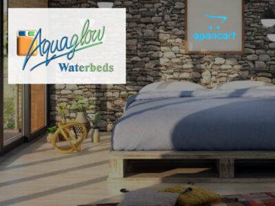 Aquaglow Waterbeds Website
