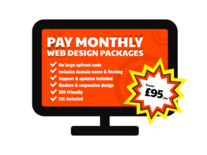 Pay Monthly Websites in Southport