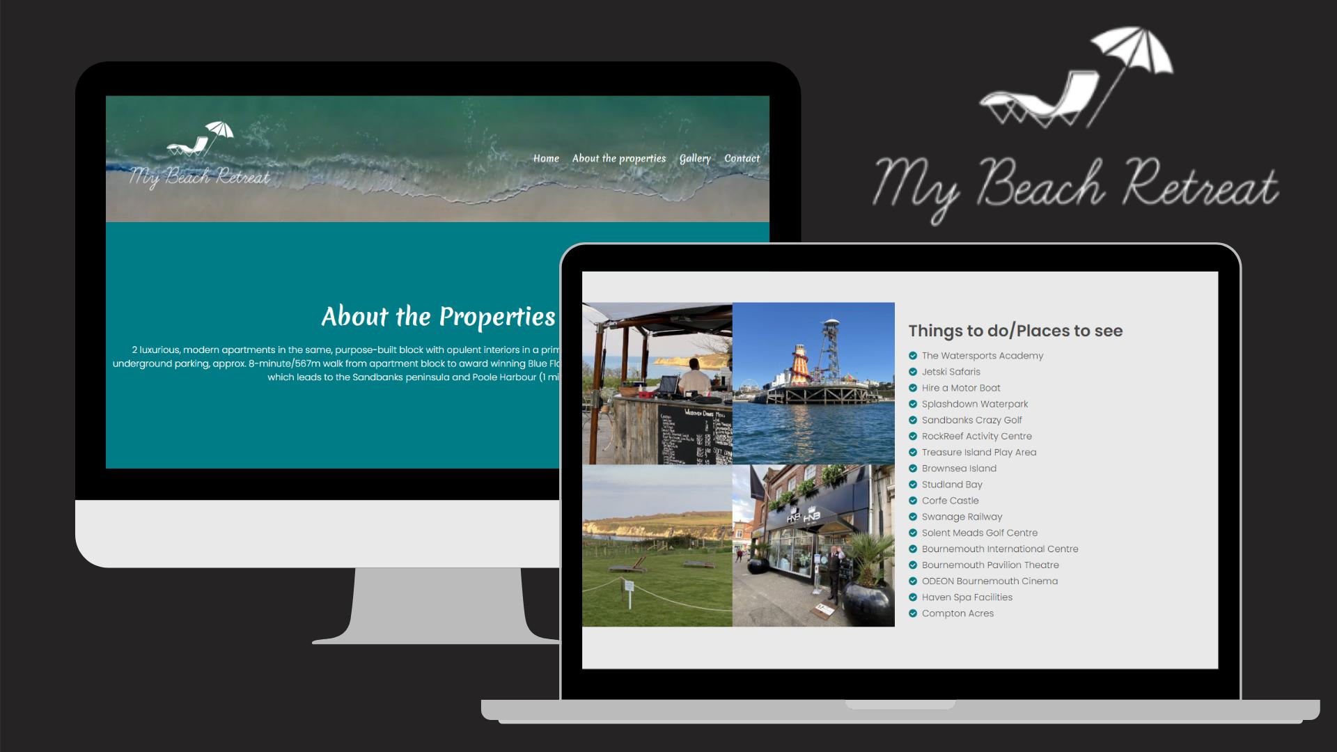 My Beach Retreat Website